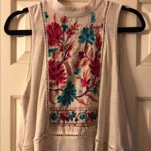 Hummingbird blouse size Medium